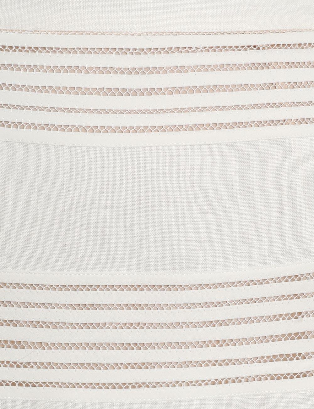 Corsage Linear Skirt