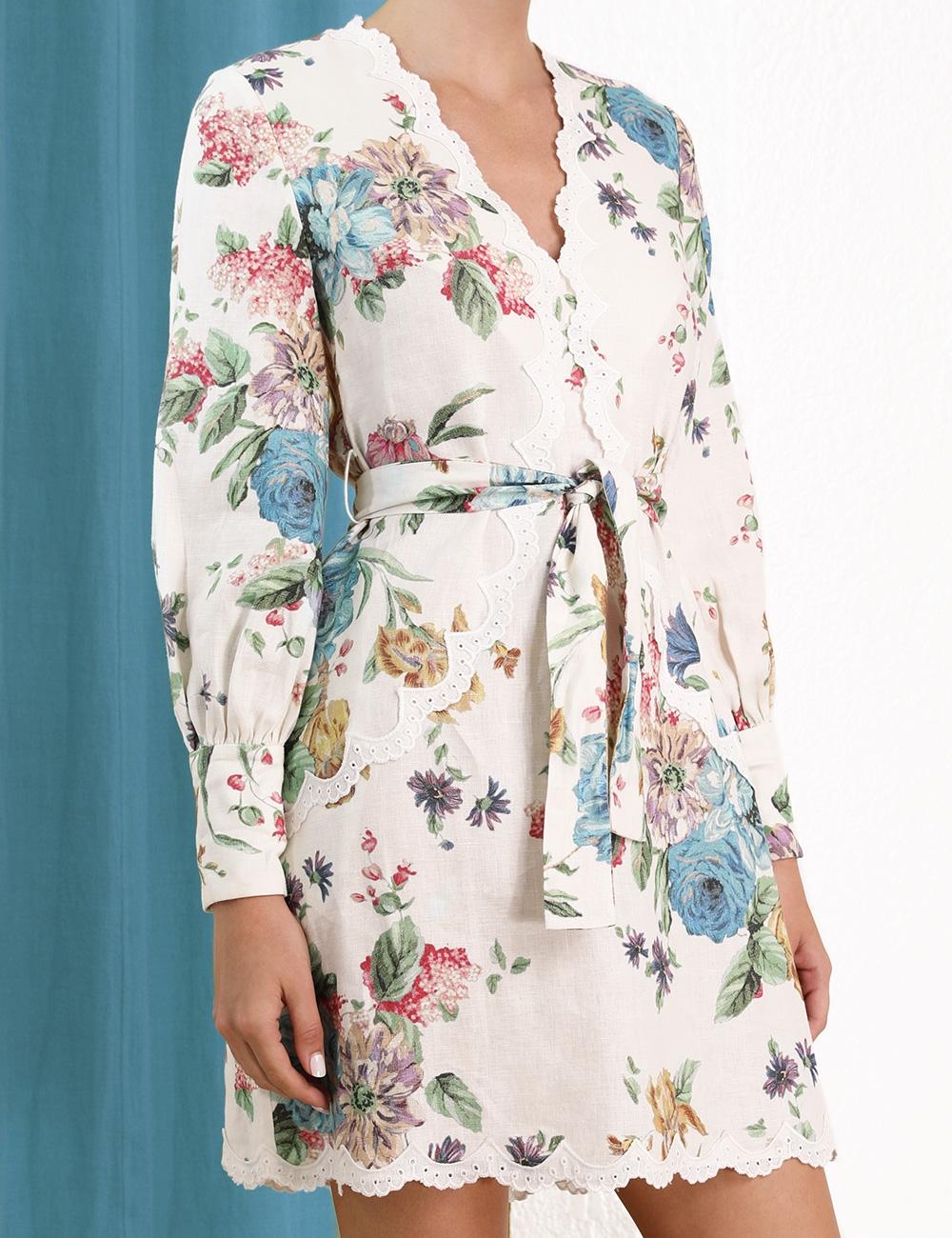 Ninety-Six Scallop Dress