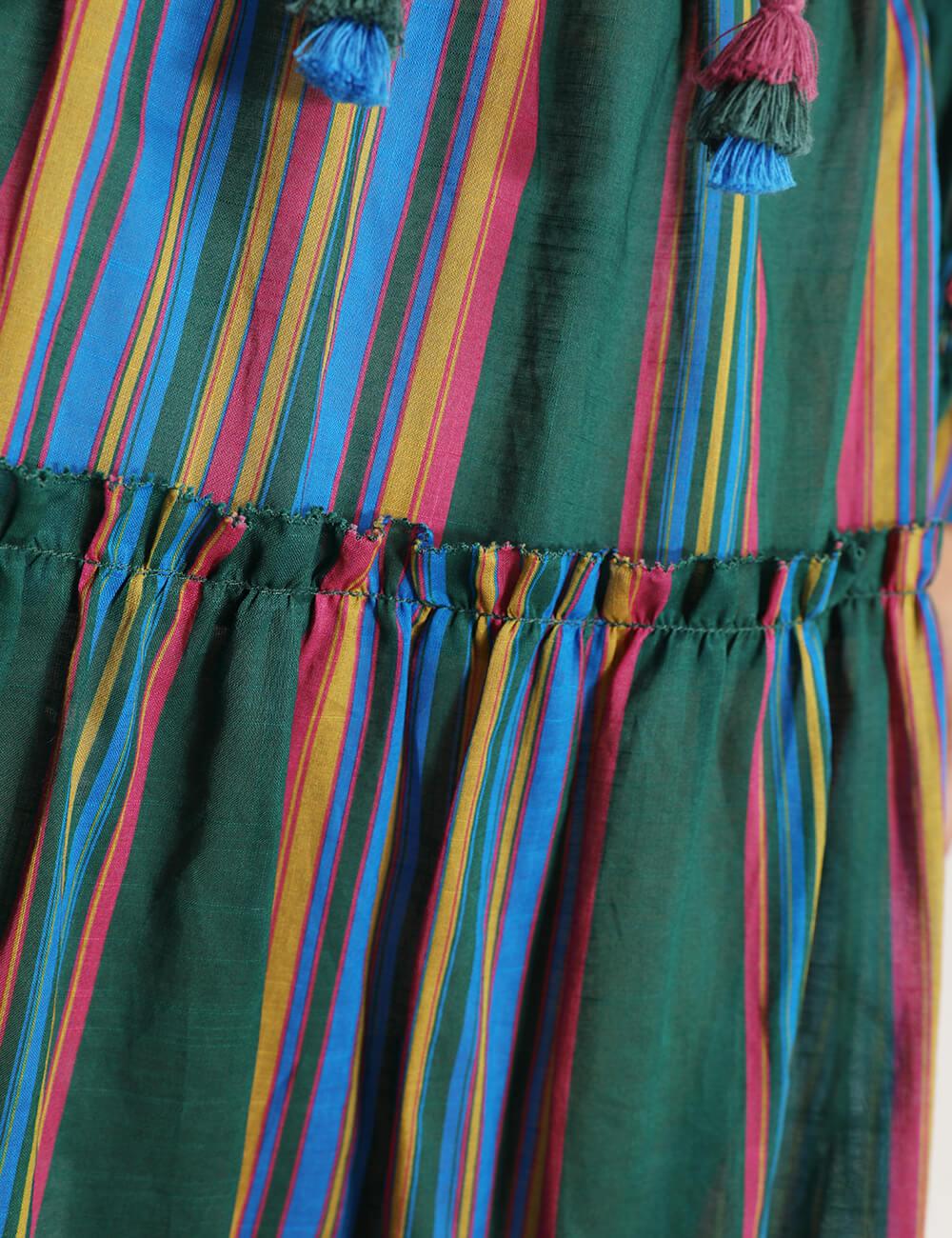 Allia Stripe Picnic Dress