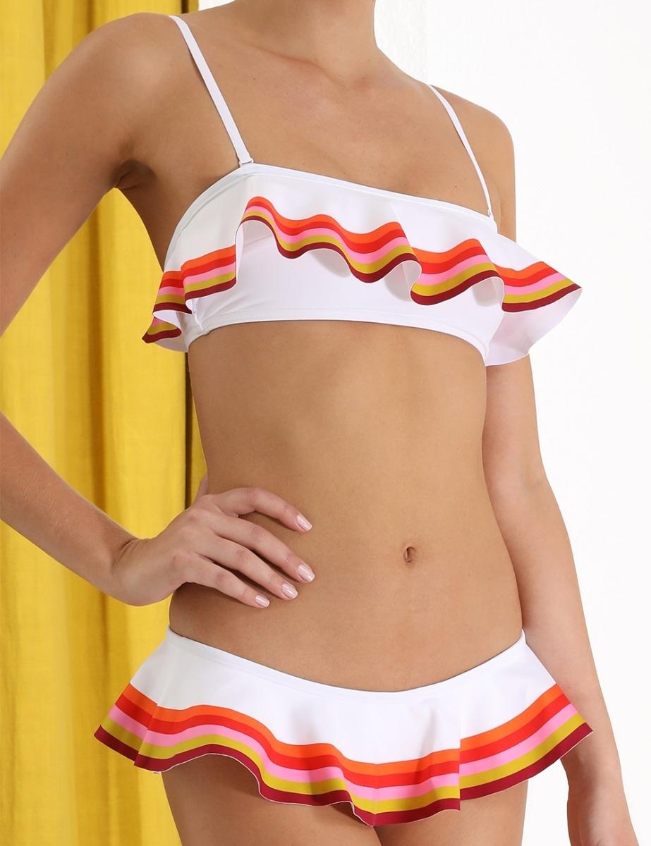 Goldie Bandeau Frill Bikini
