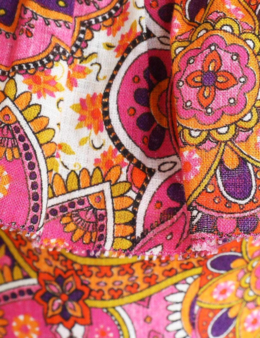 Fiesta Ruffle Neck Long Dress