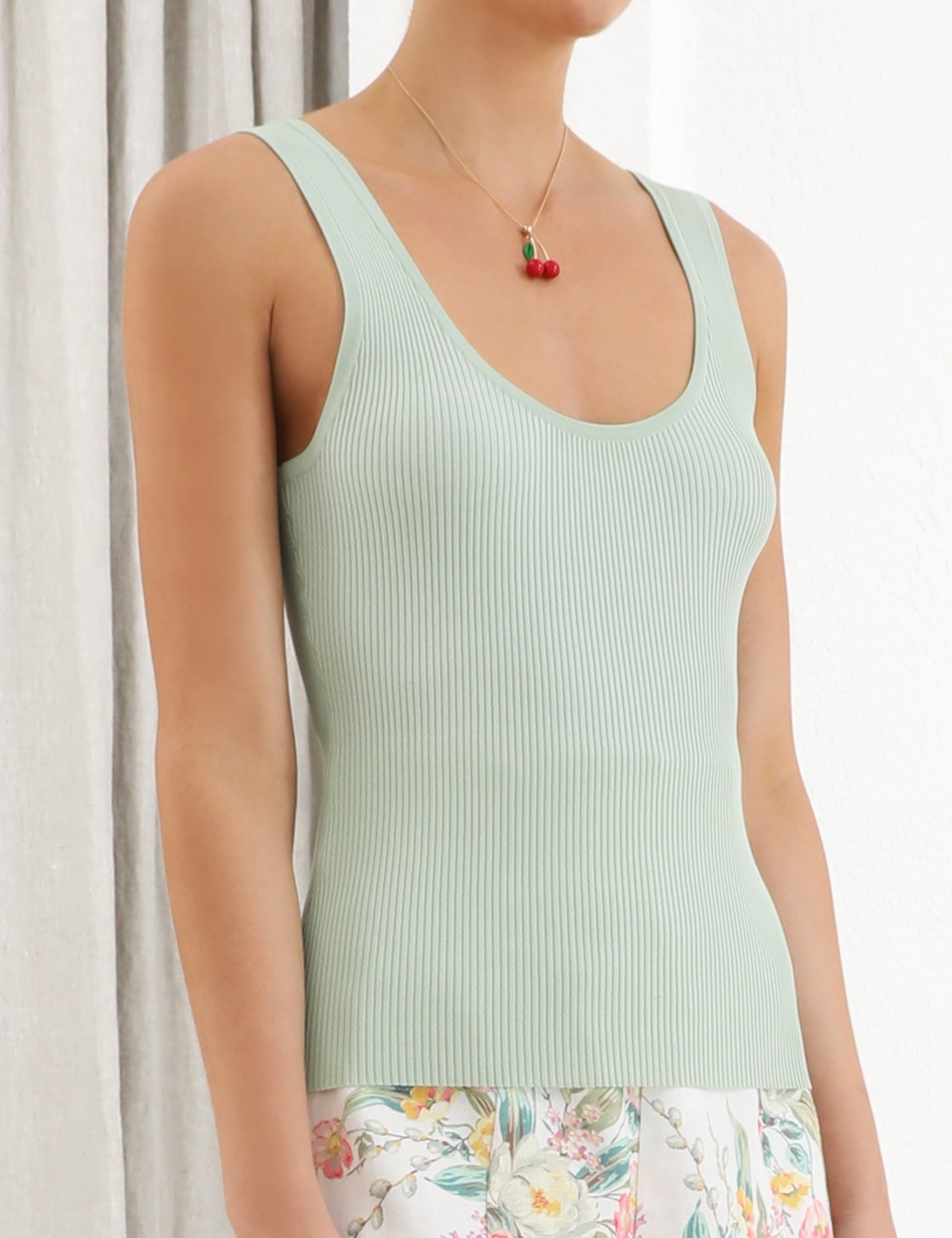 Zinnia Scoop Neck