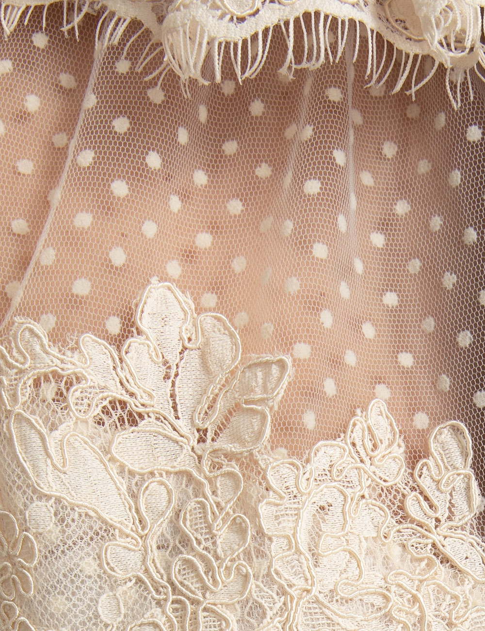 Espionage Corded Lace Gown