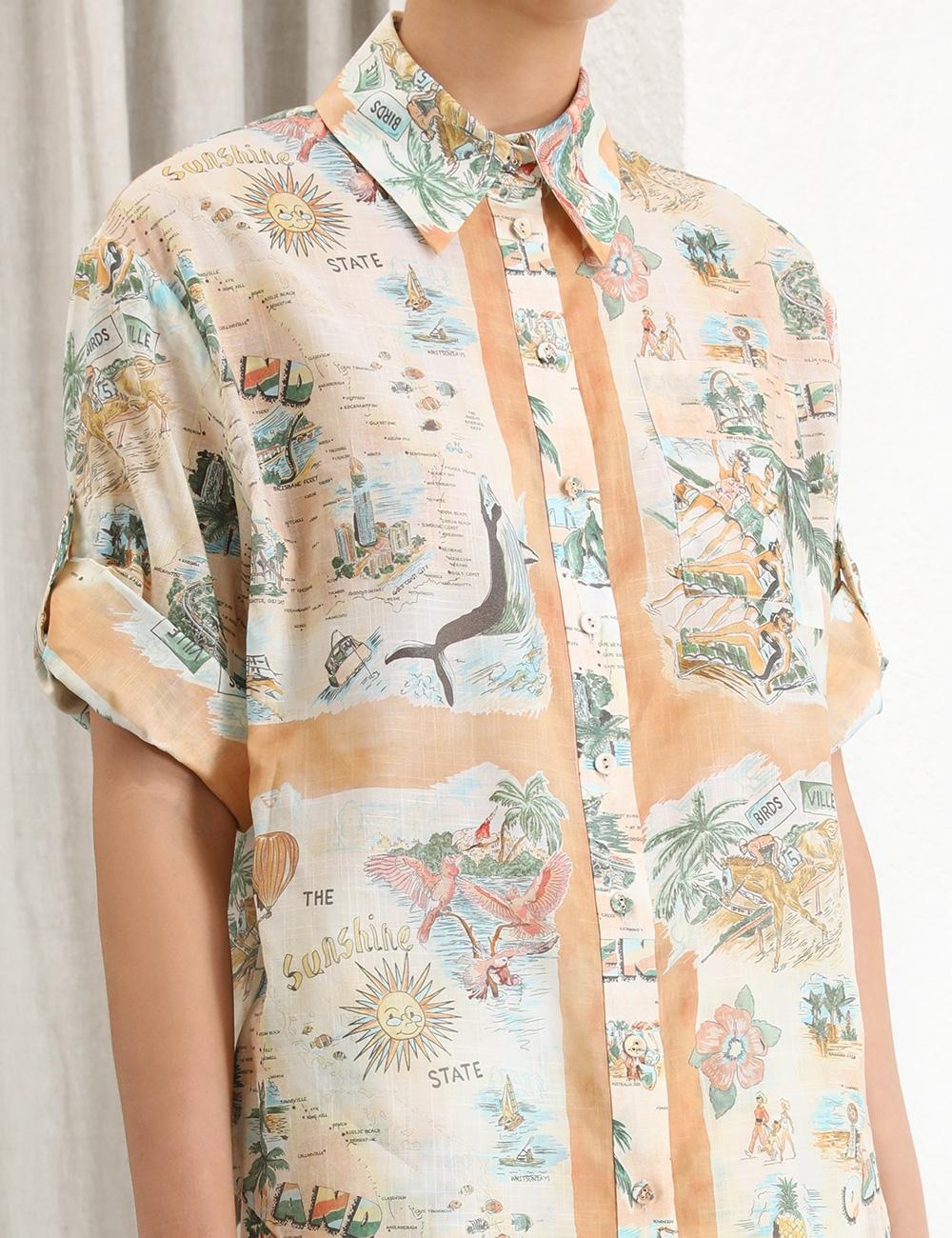 Kirra Button Up Shirt
