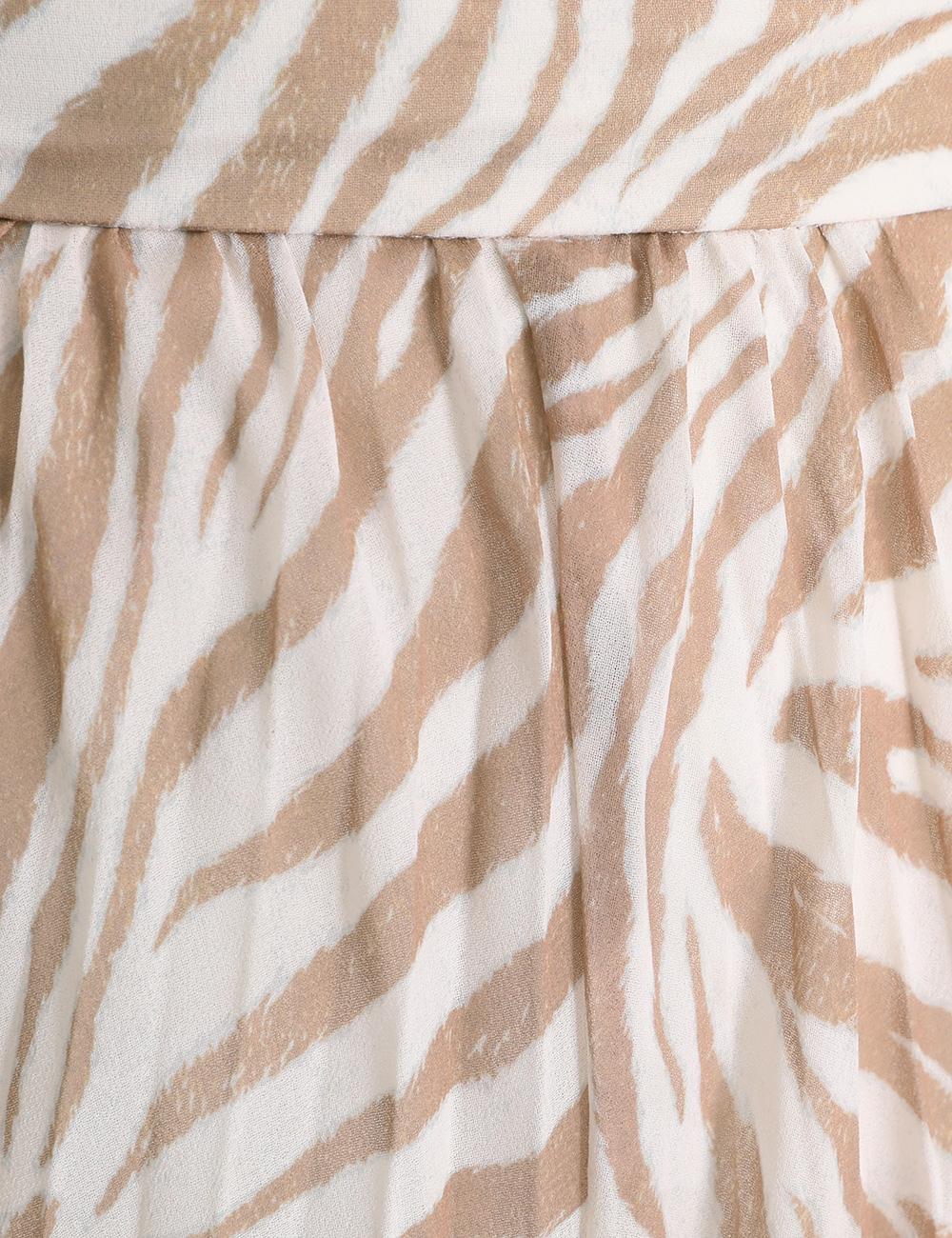 Sunray Midi Skirt