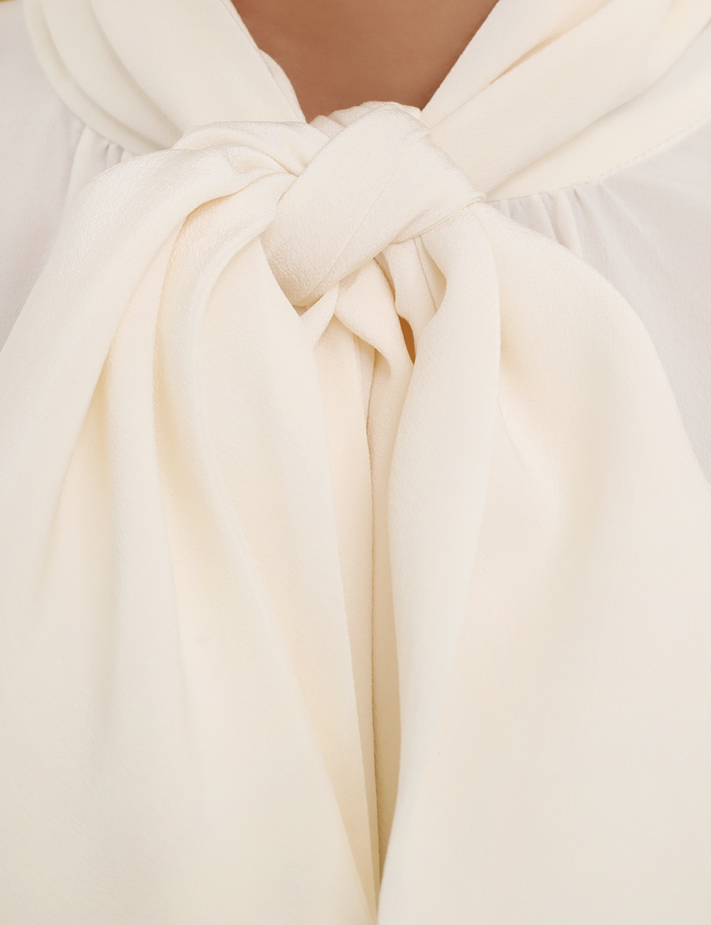 Batwing Silk Blouse