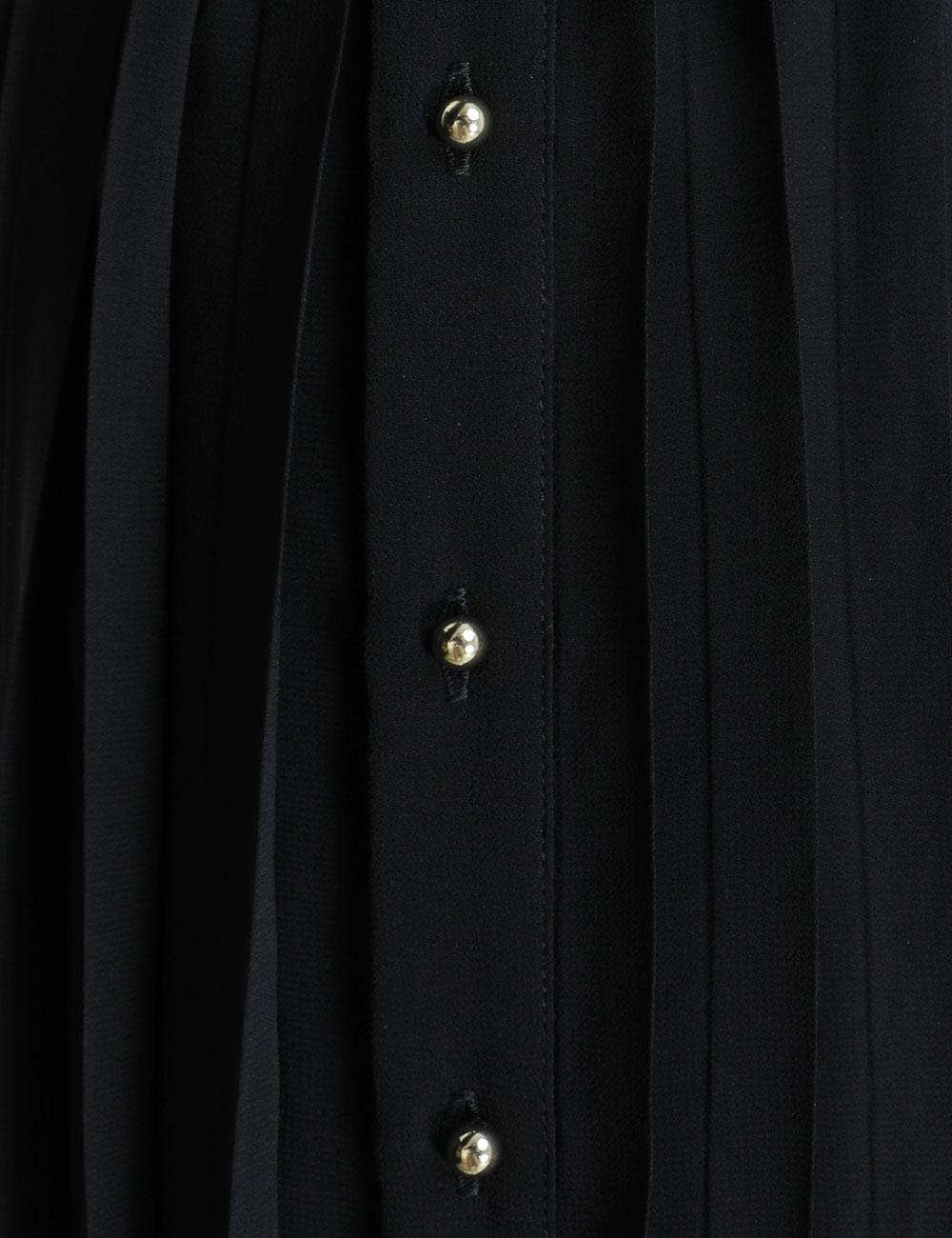 Pleated Midi Dress