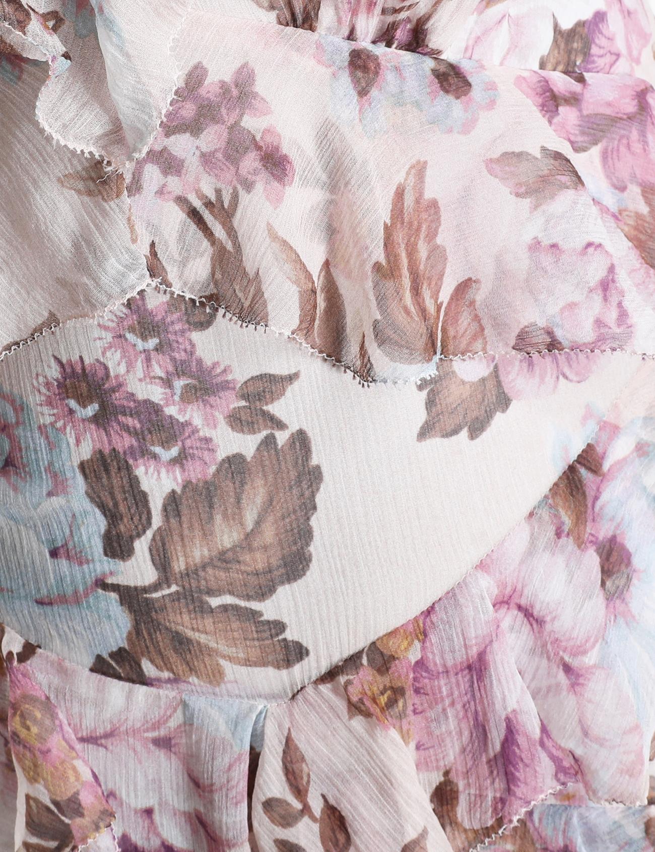 Charm Flutter Midi Dress