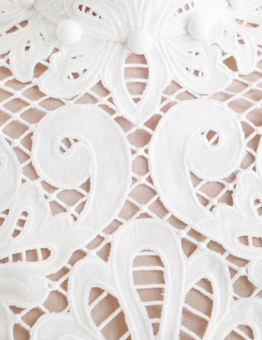 Wavelength Embroidered Bodice
