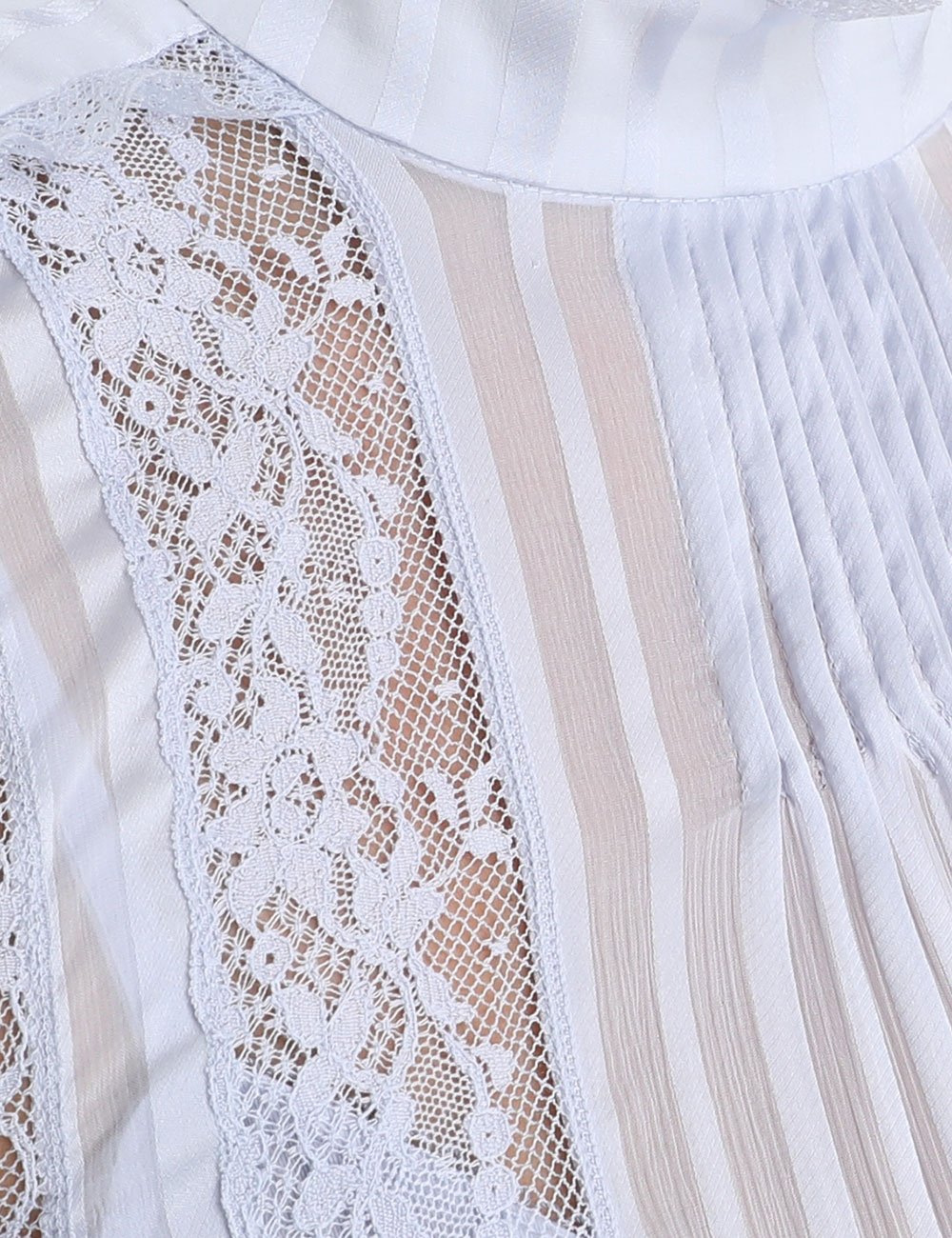 Brightside Frilled Lace Midi