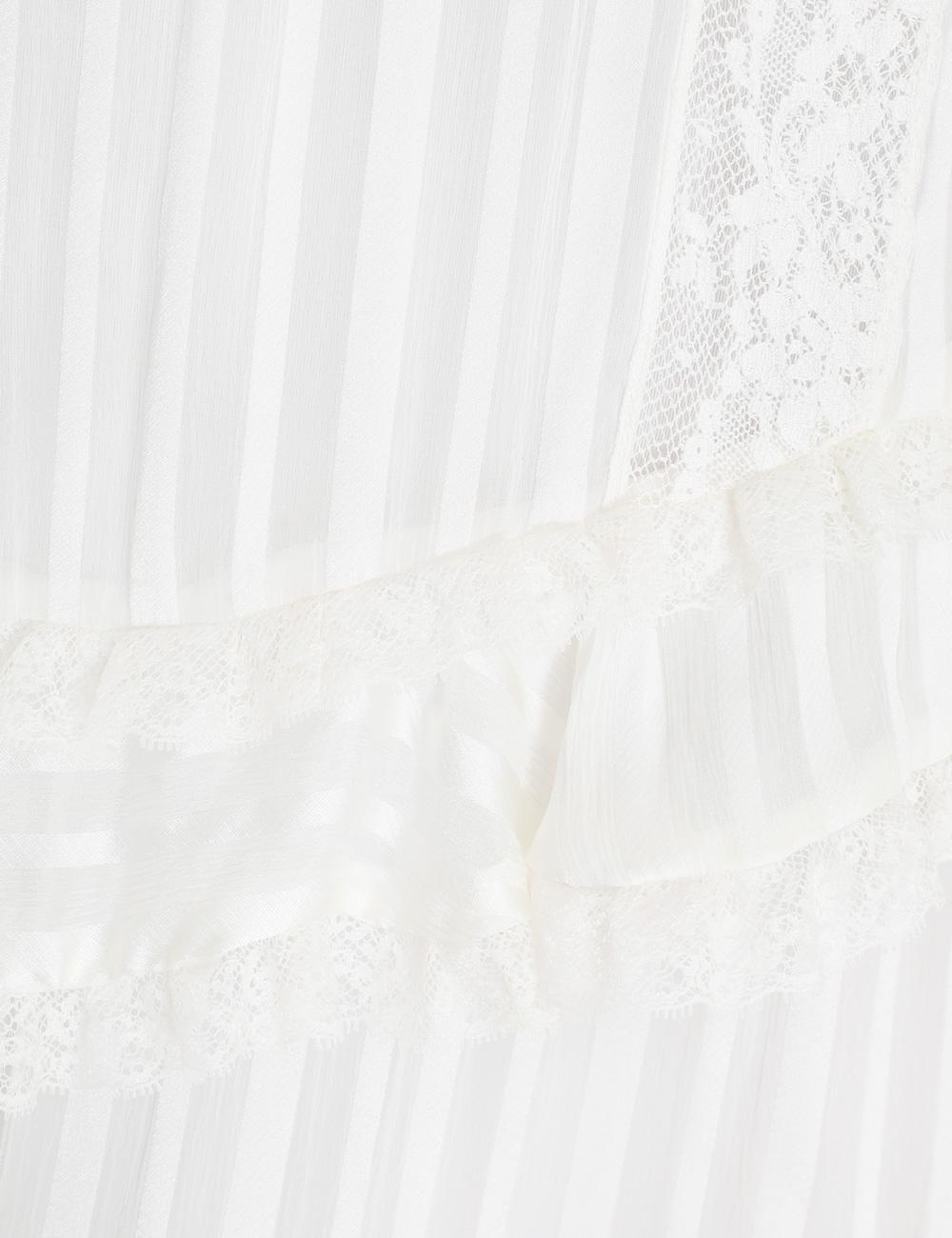 Brightside Frilled Lace Mini