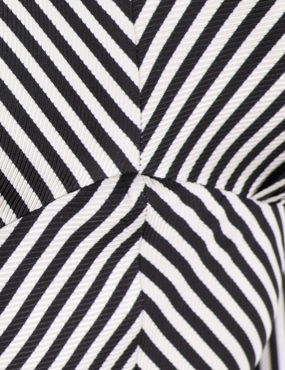 High Collar Midi Dress