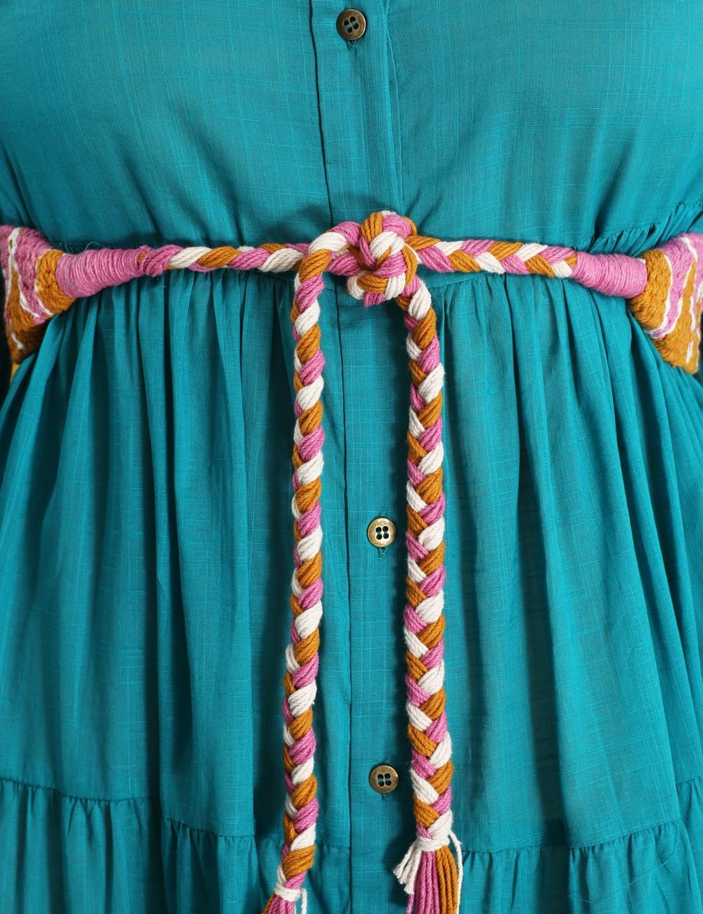 Fiesta Tiered Long Dress