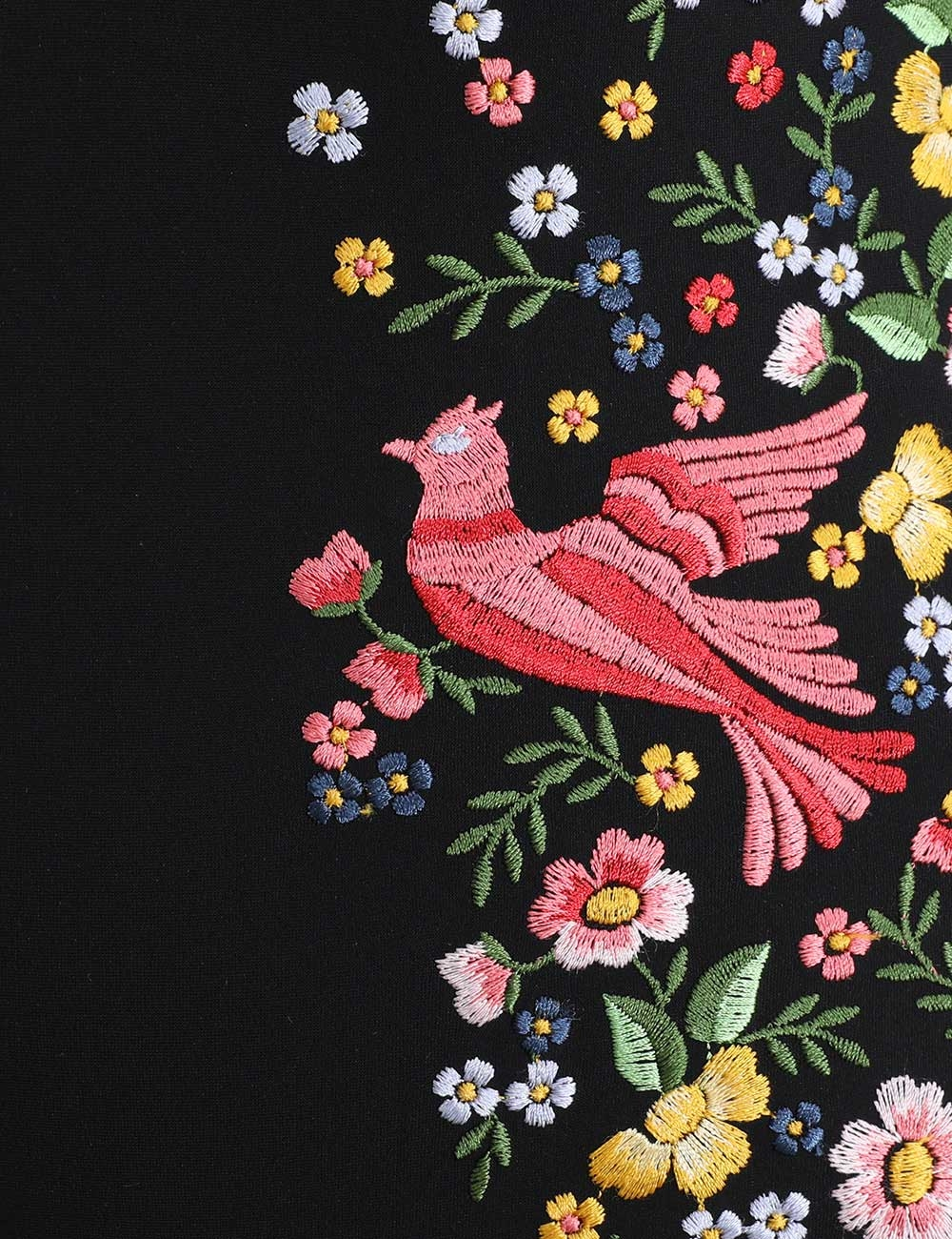 Carnaby Embroidered Bird 1 Pc