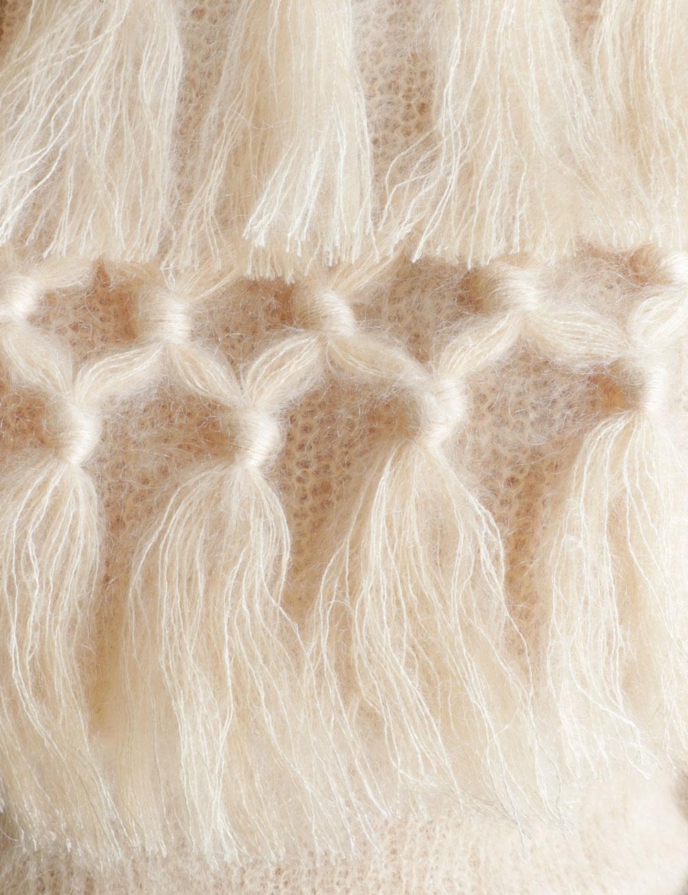 Ladybeetle Tassel Sweater