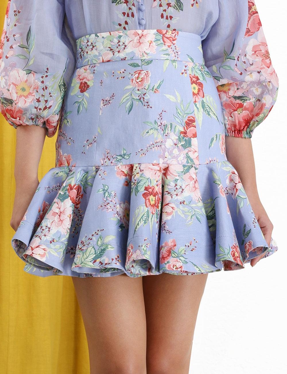 Bellitude Flip Mini Skirt