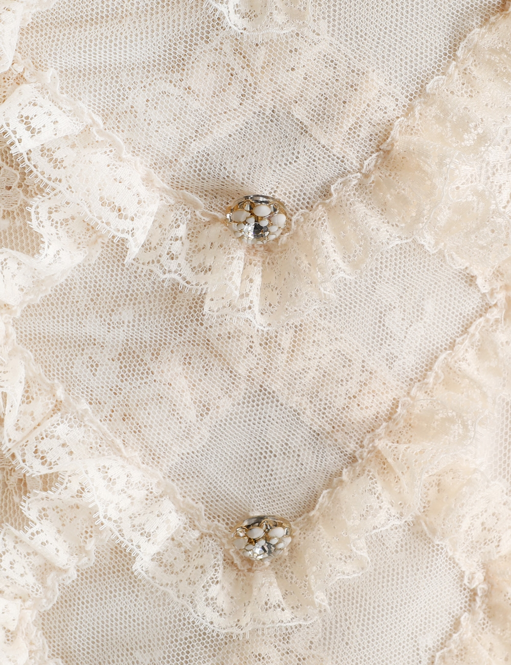 Lucky Lace Handkerchief Blouse