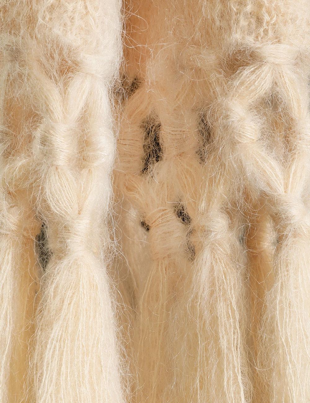 Ladybeetle Tassel Scarf