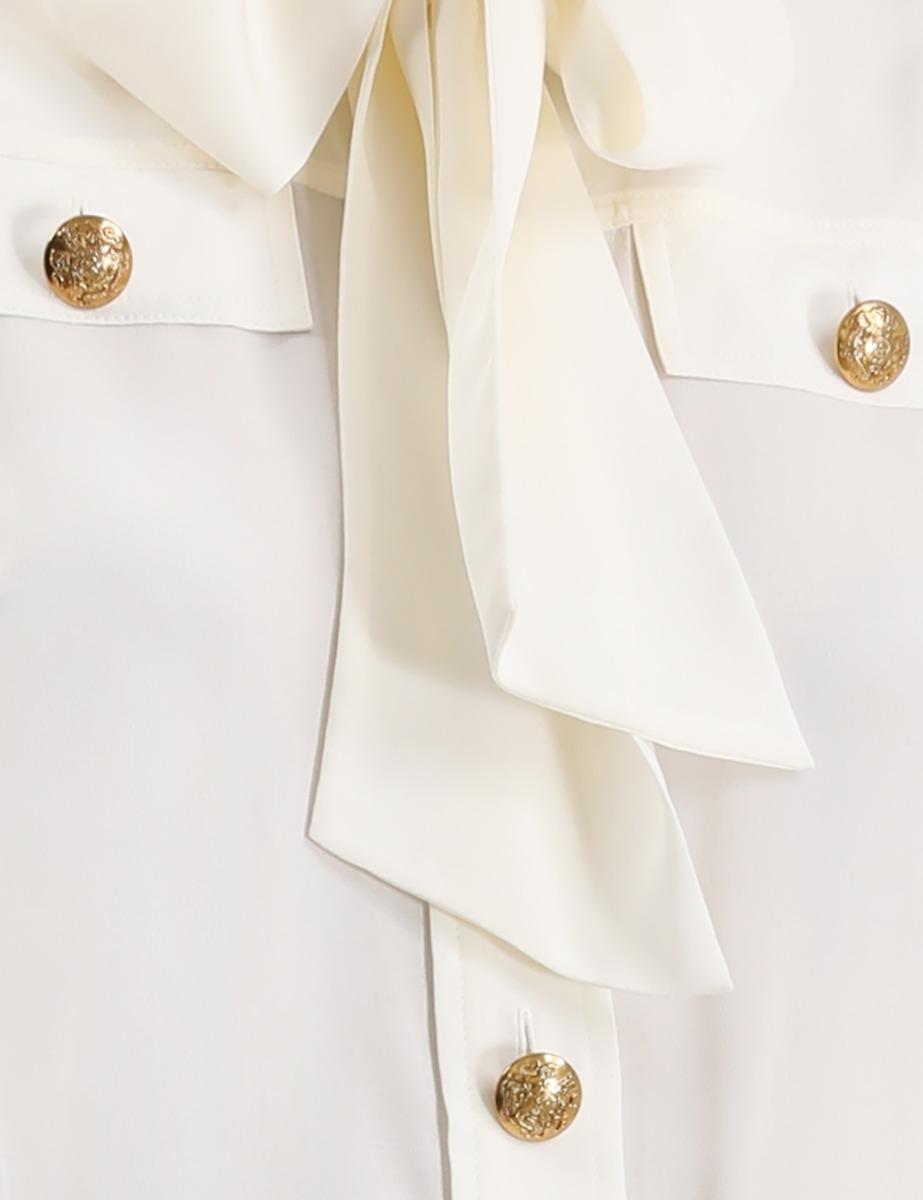 Silk Tie Shirt