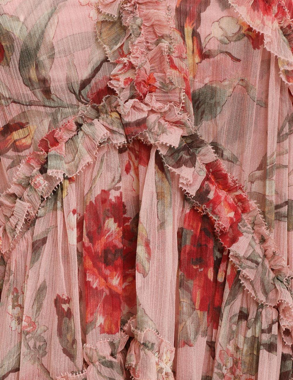 Cassia Frill Billow Dress