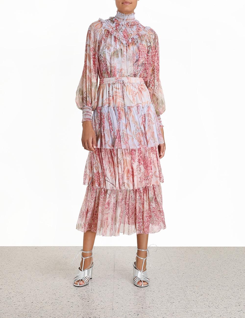 Botanica Tiered Skirt