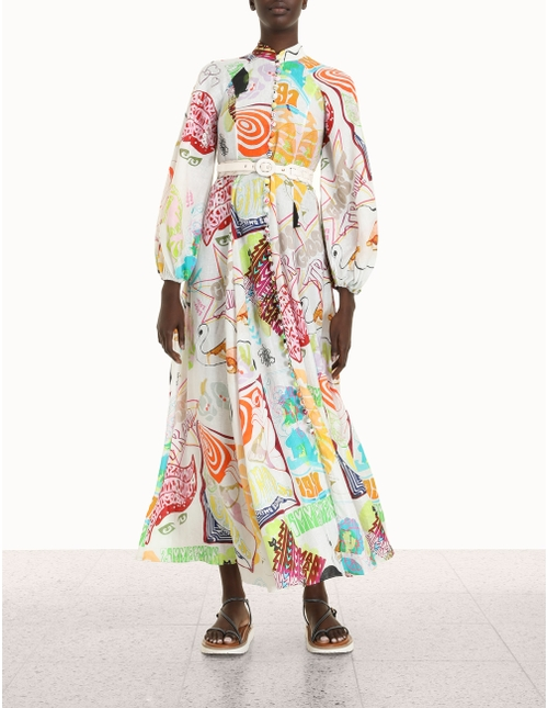 Shelly Billow Long Dress