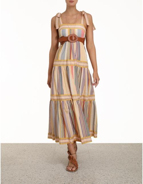 Mae Tie Shoulder Dress