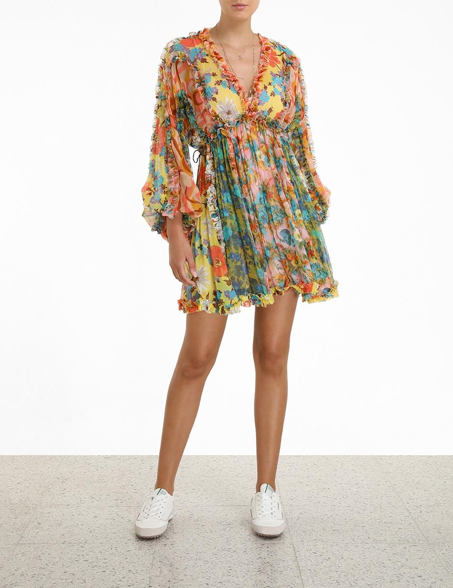 Estelle Billow Mini Dress