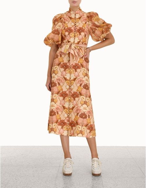 Tempo Puff Sleeve Day Dress