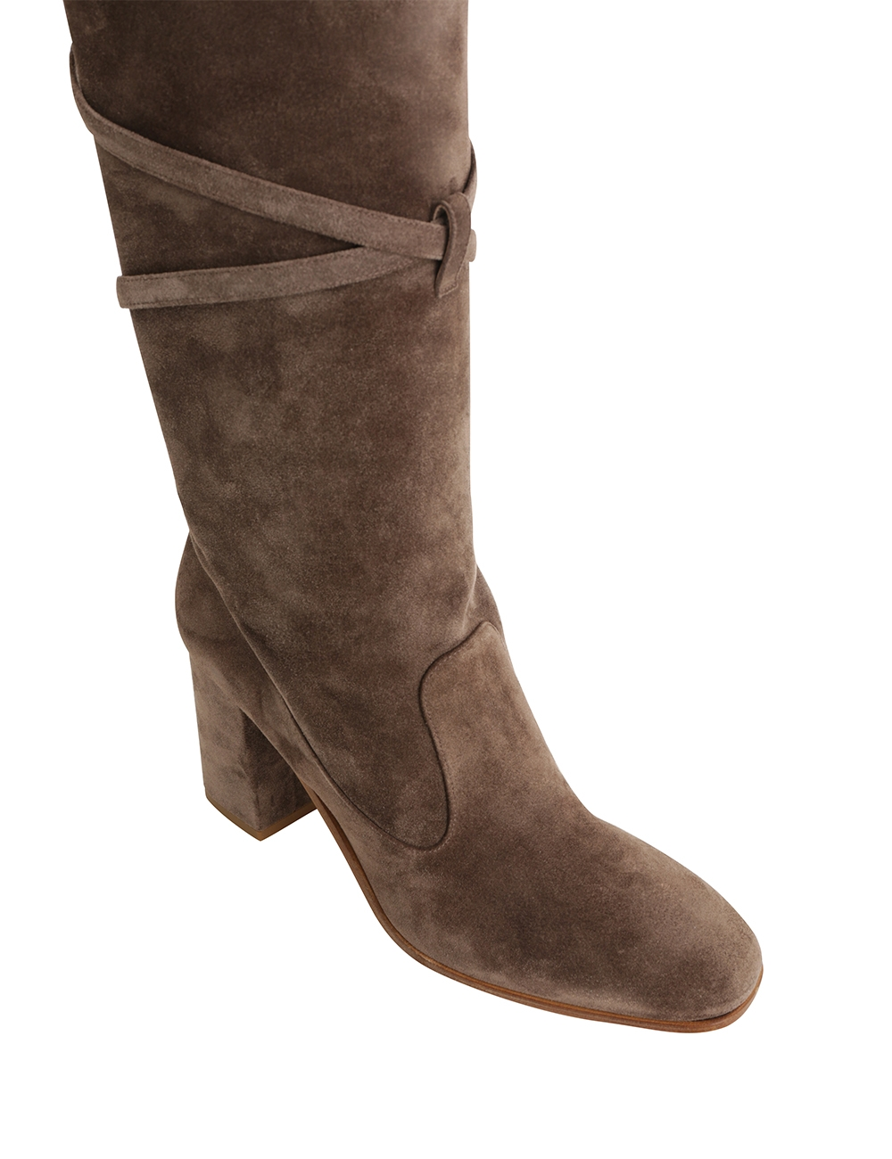 Tie Up Over the Knee Boot