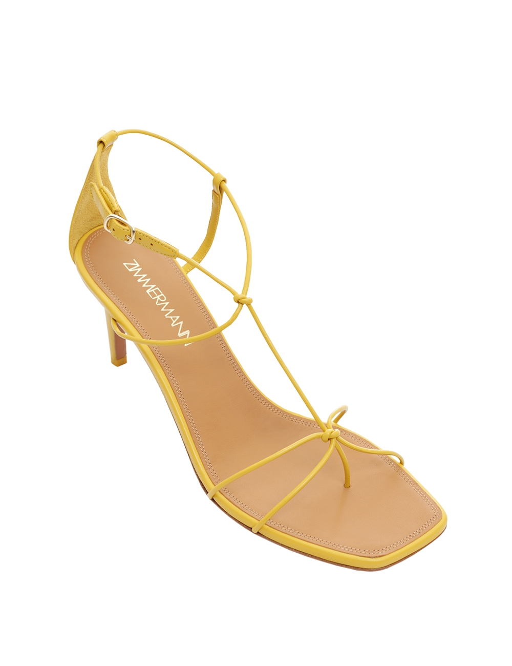 Strappy Heeled Sandal