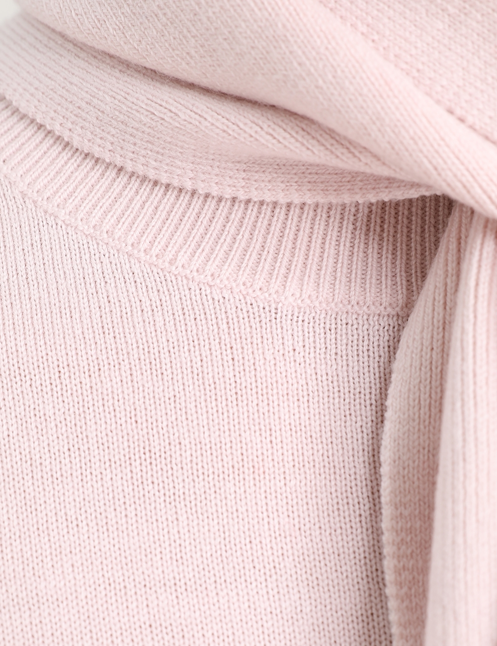 Tie Neck Sweater