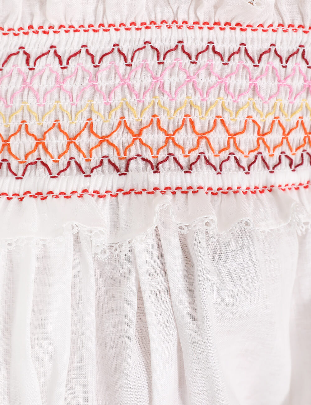Goldie Rainbow Smocking Top