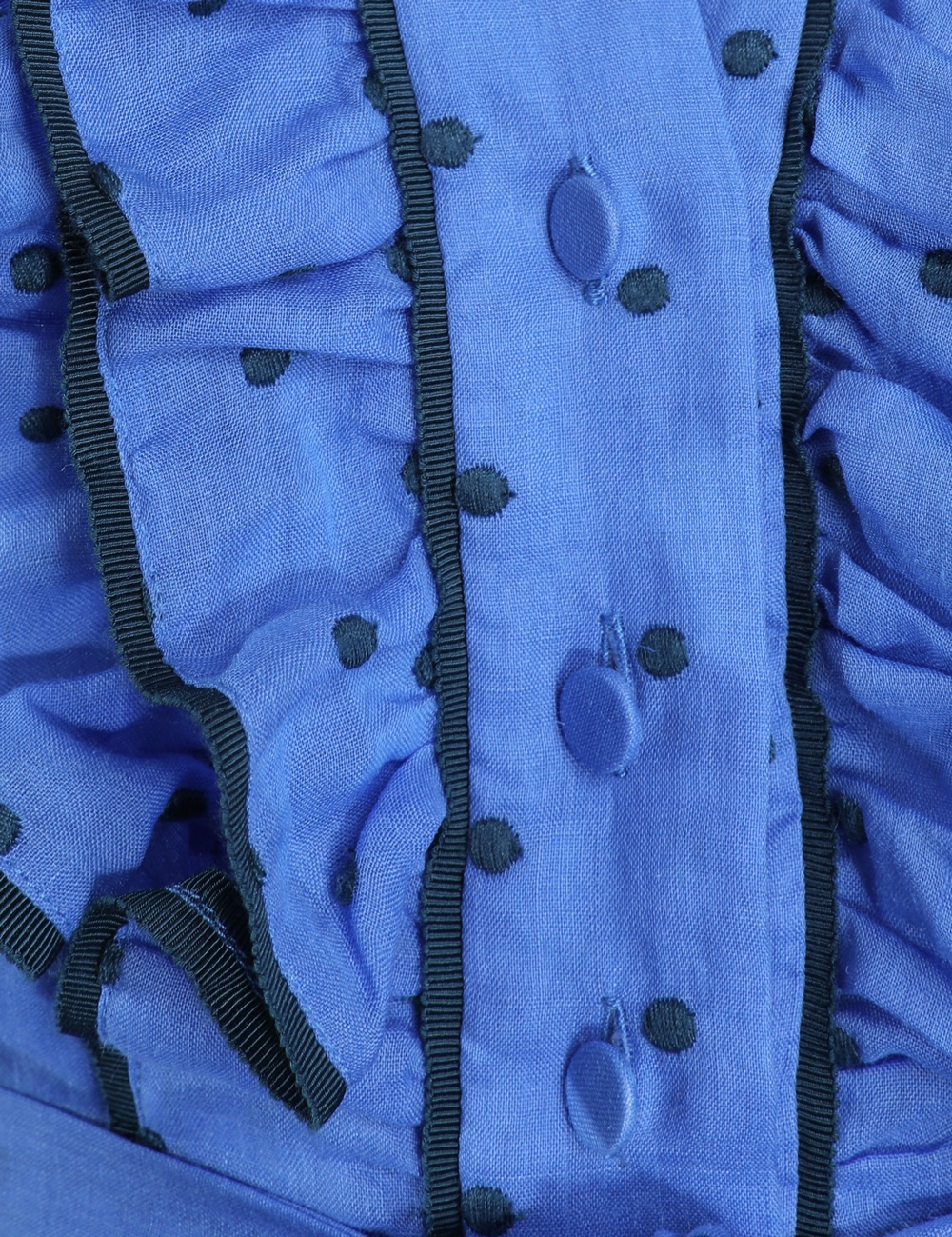 b2ef7a1bf7b3fe Moncur Ruffle Shirt Dress