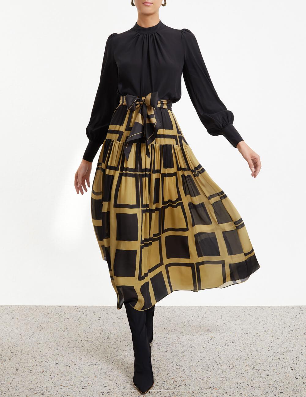 Resistance Gathered Skirt