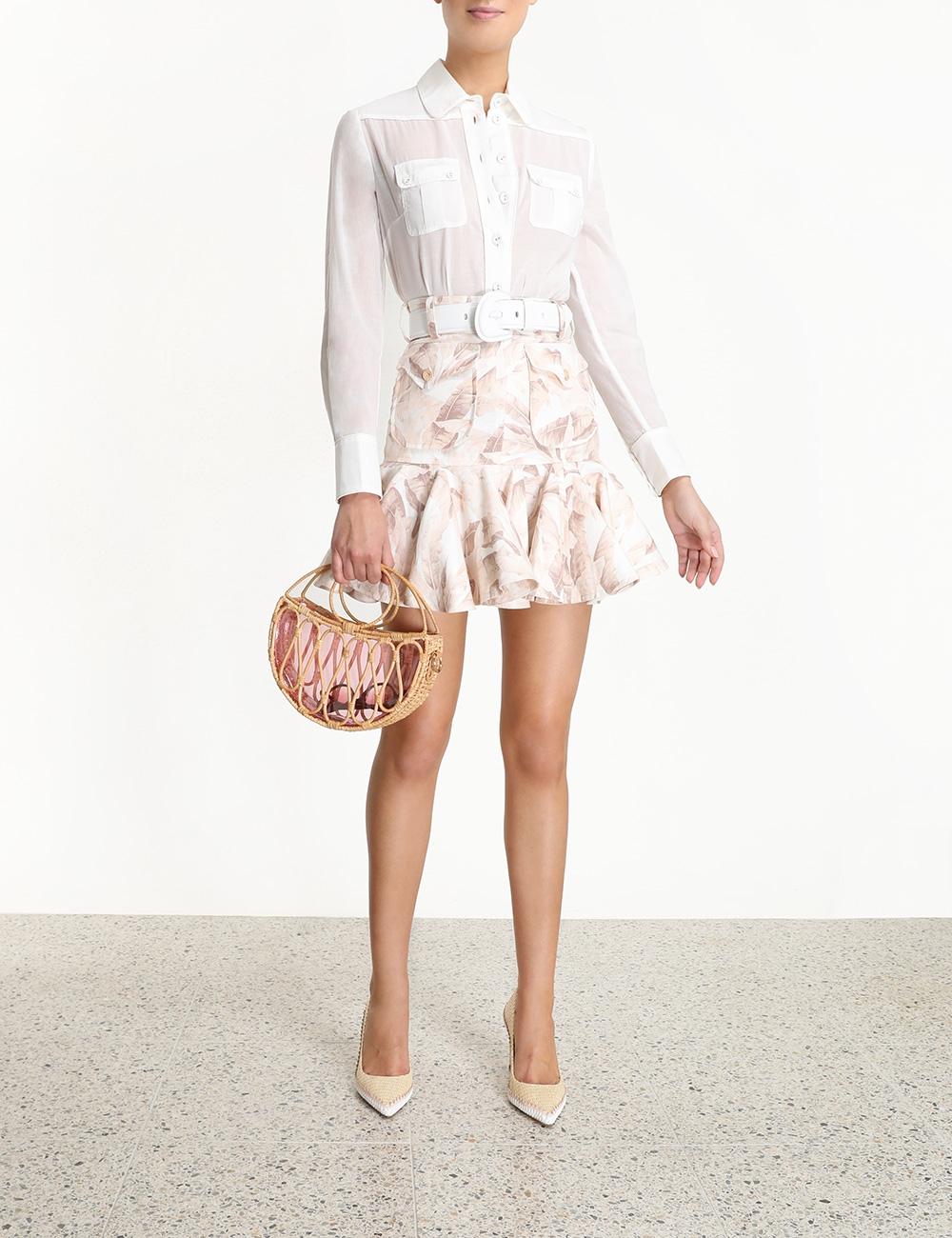 Super Eight Safari Skirt