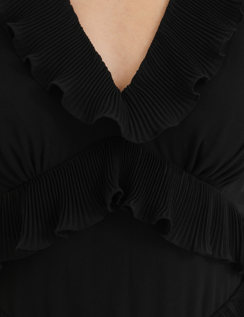 Pleated Frill Mini