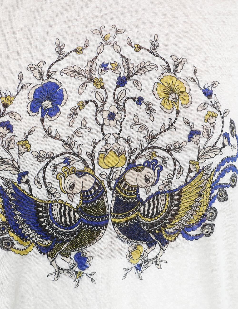 Edie Bird Print Tee