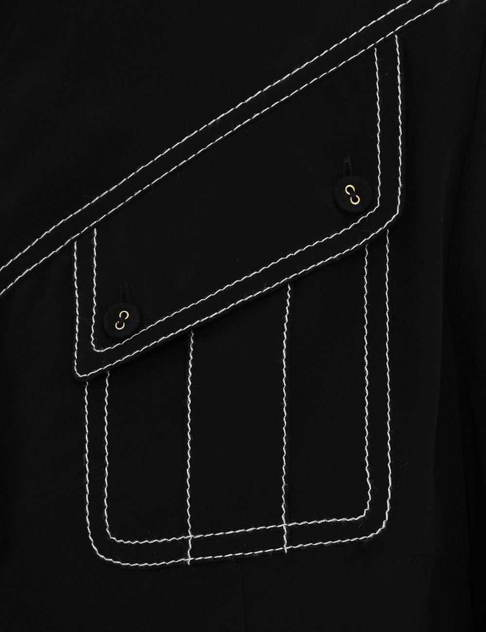 Silk Utility Body Shirt