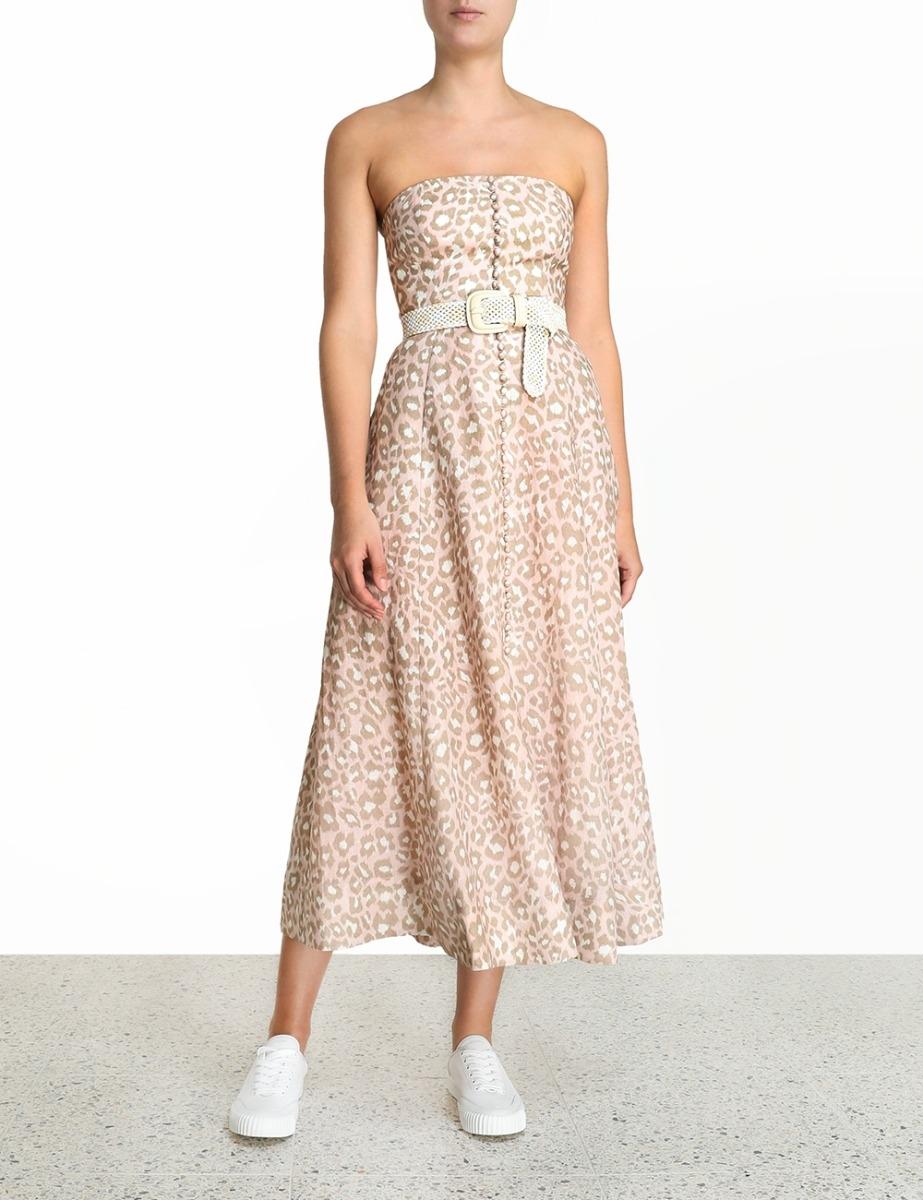 Carnaby Bustier Midi Dress