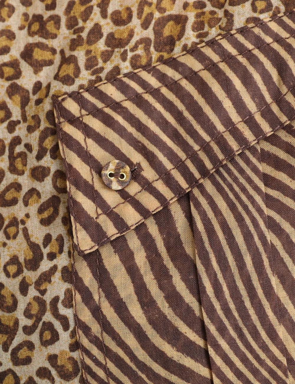 Empire Cuffed Shirt