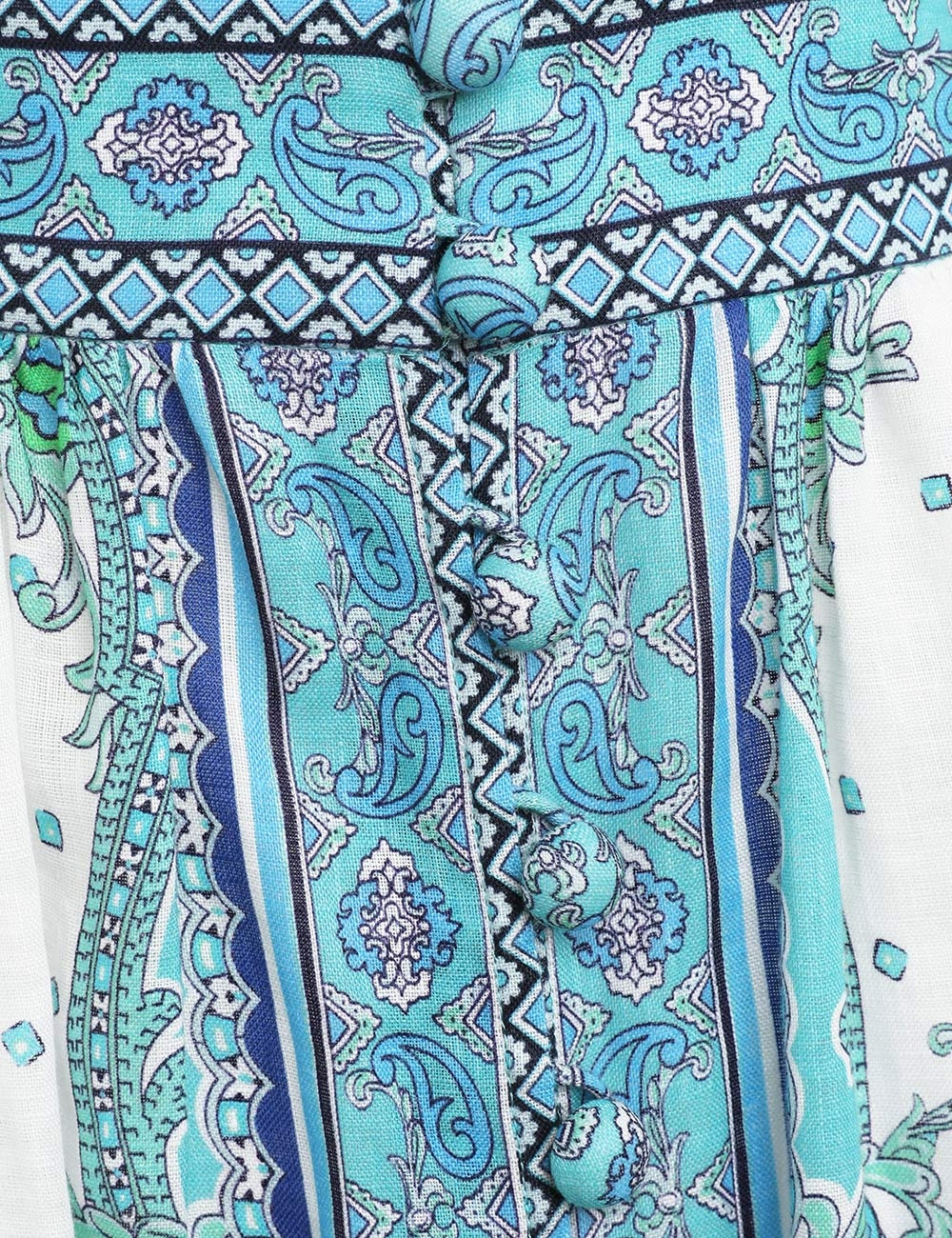 Bells Paisley Short Dress