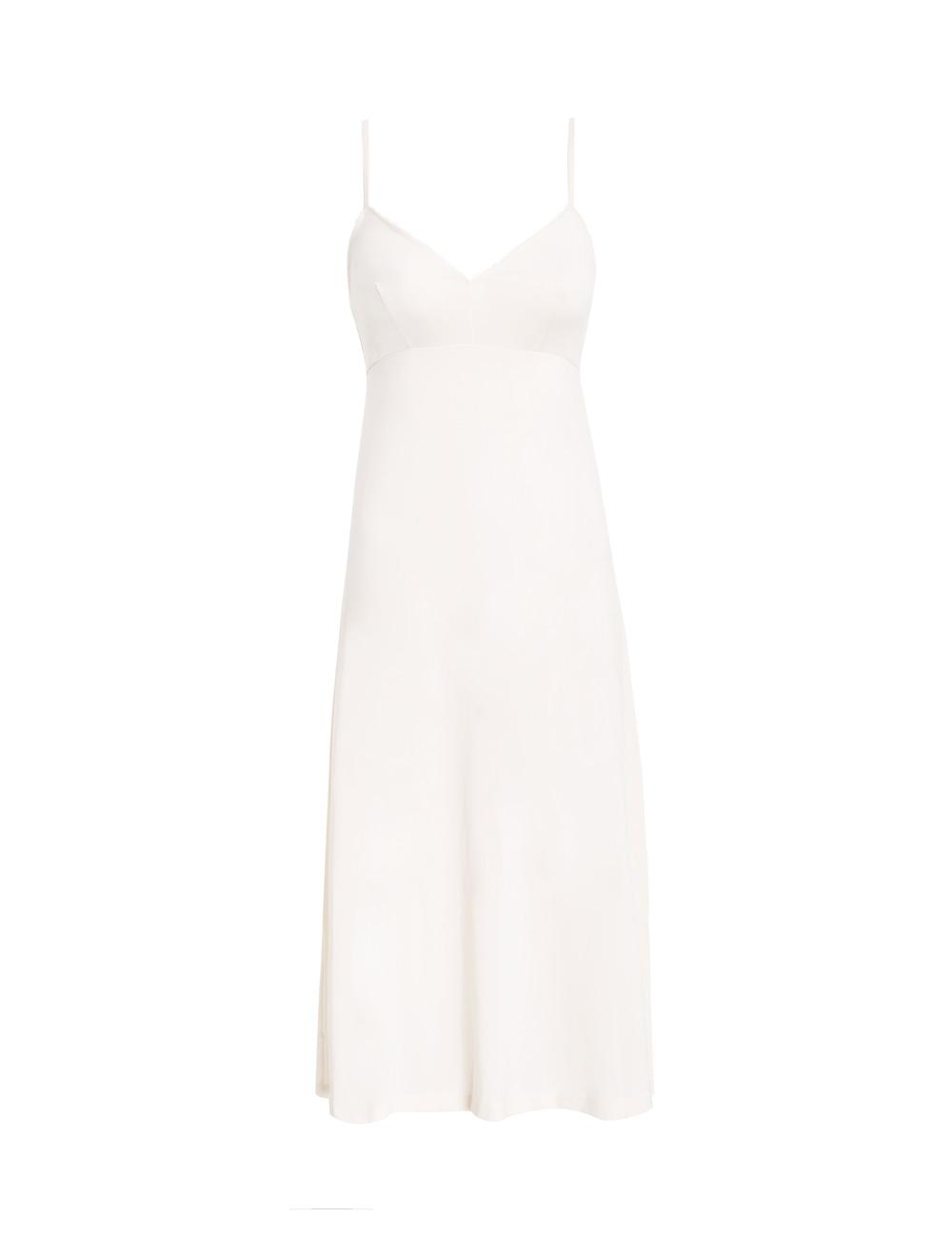 Silk Billow Shirt Dress