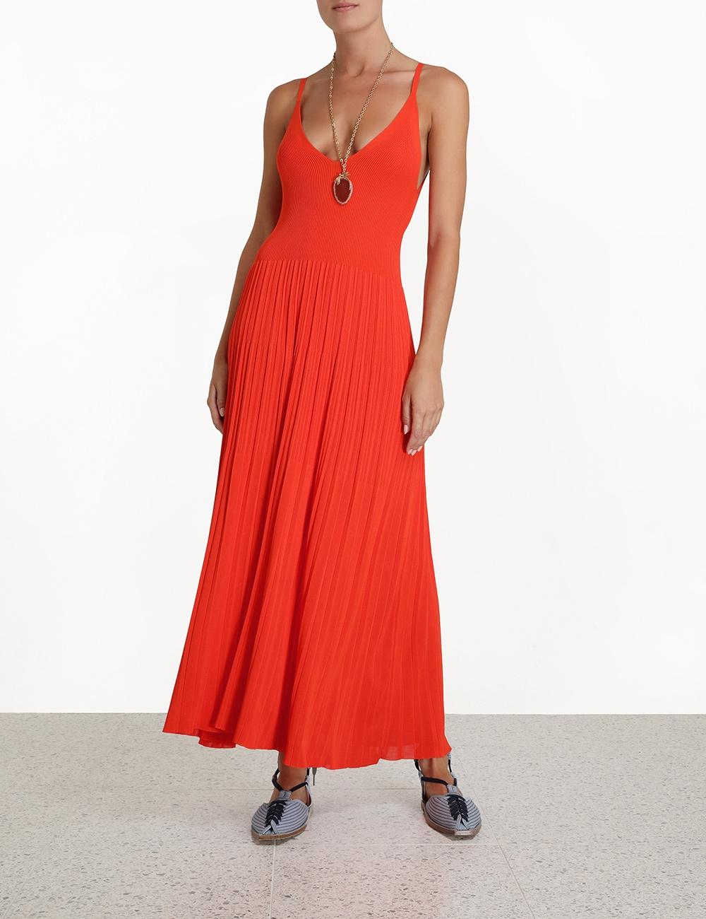 Botanica Pleated Cami Dress