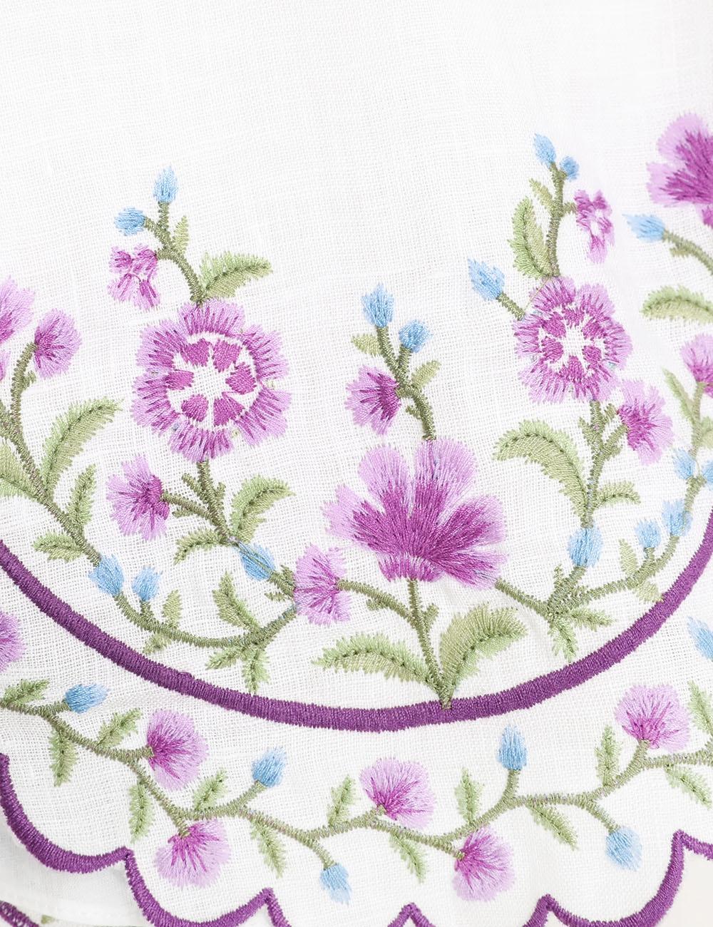 Poppy Floral Crop Top