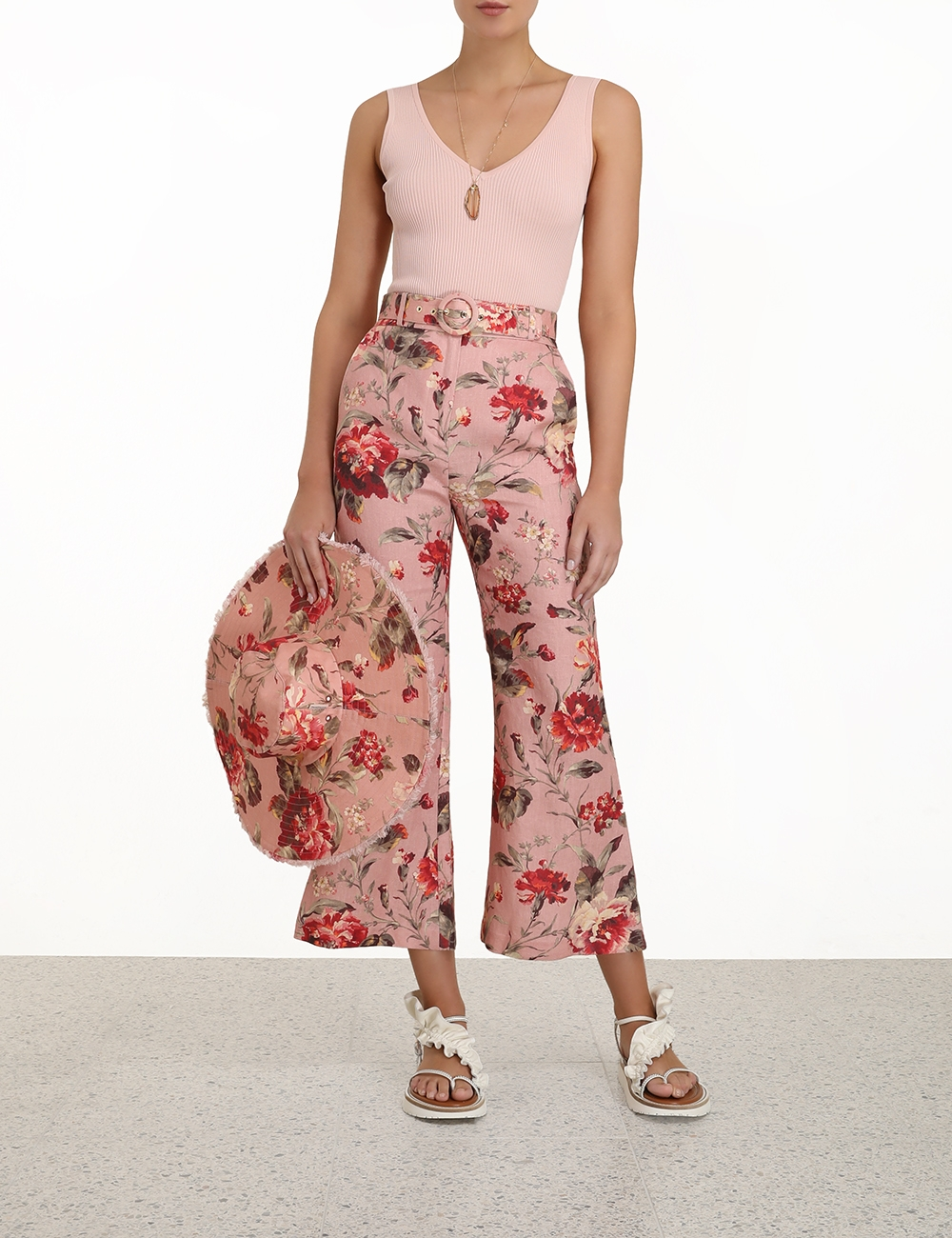 Cassia Crop Flare Pant