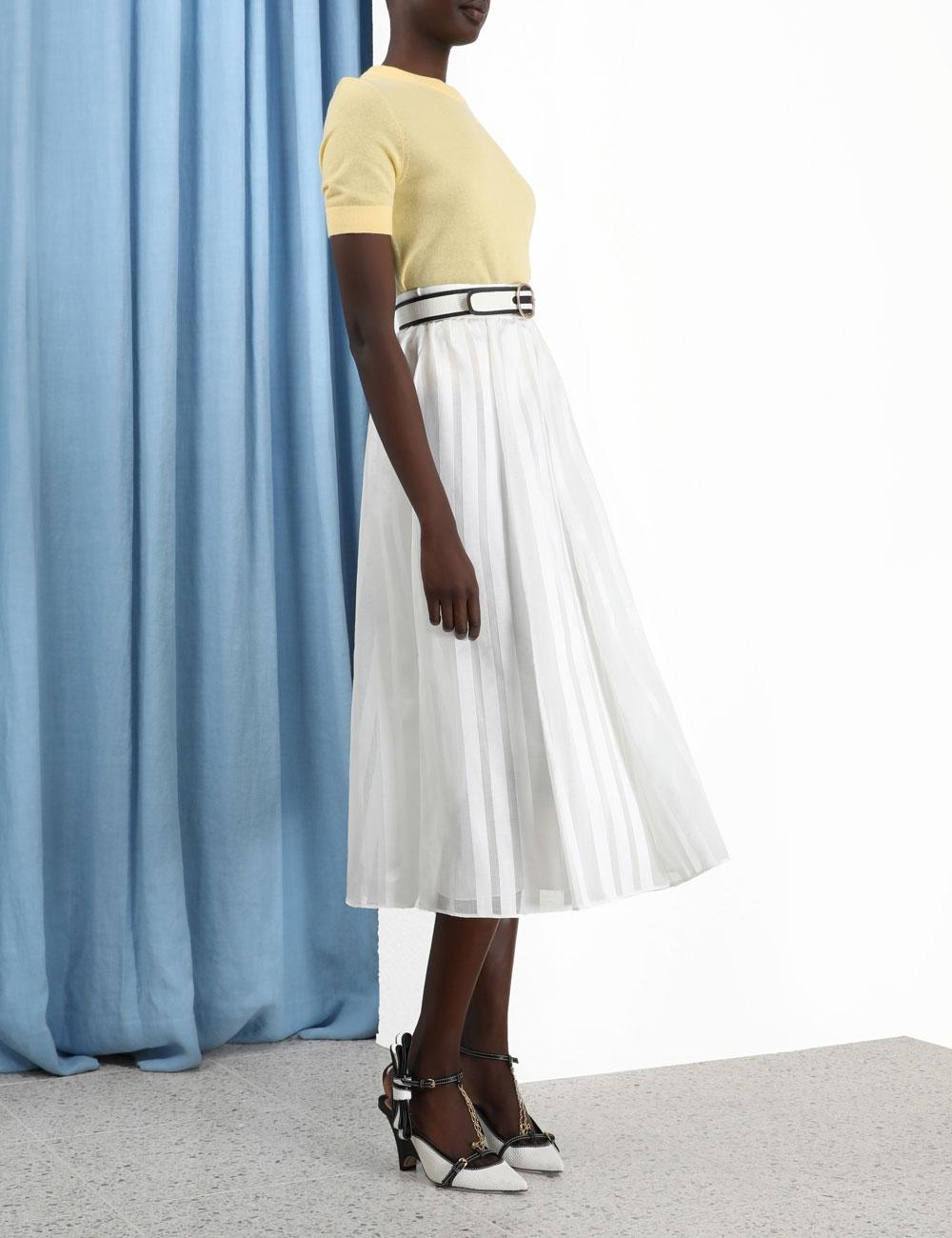 The Lovestruck Burnout Skirt