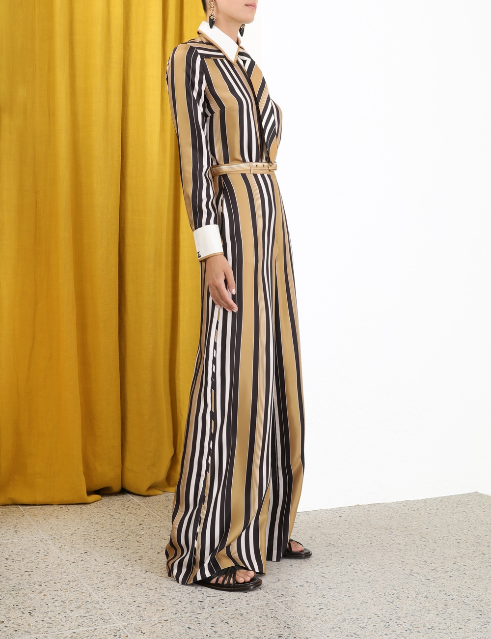 Botanica Twill Stripe Trouser
