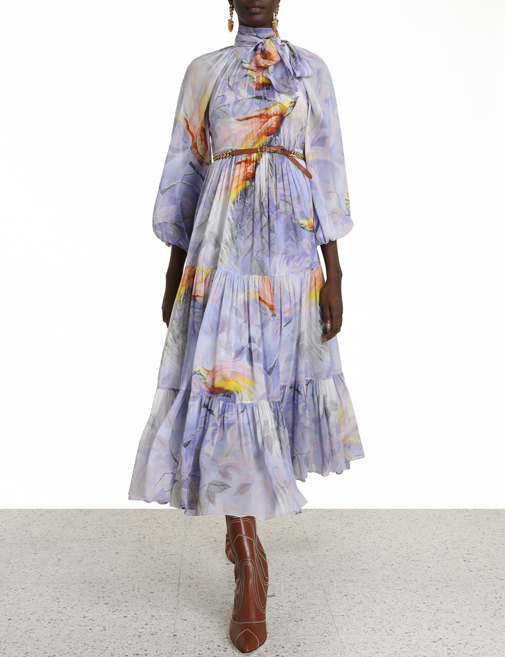 Candescent Lantern Maxi Dress