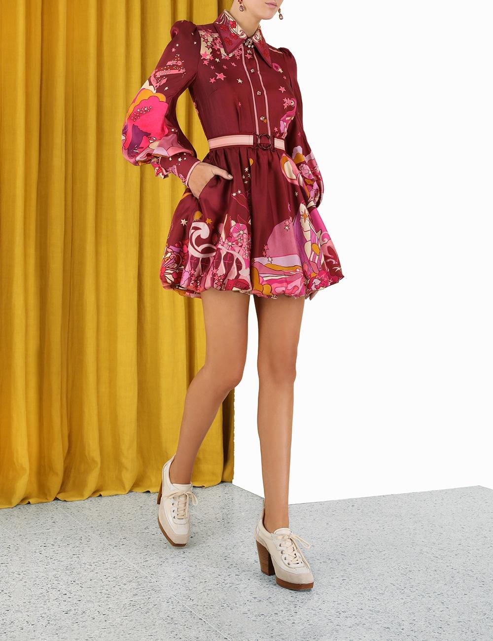 Concert Bubble Shirt Dress